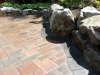 Marble, finished patio